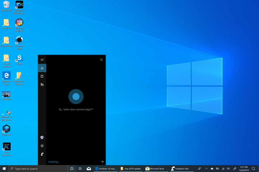 Microsoft Windows 10 May 2019 Update