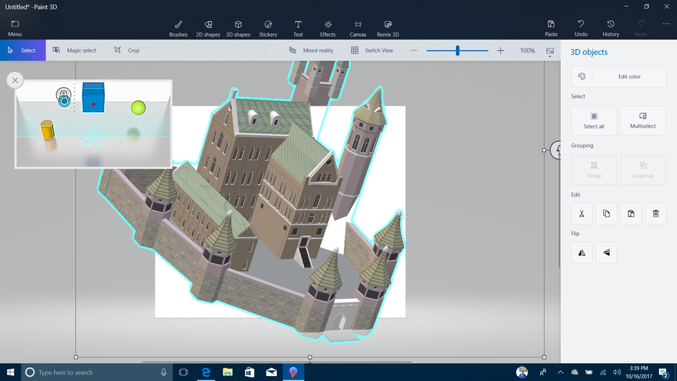 Paint 3D with Mixed Reality