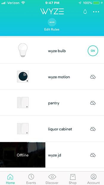 Wyze Sense Starter Kit devices
