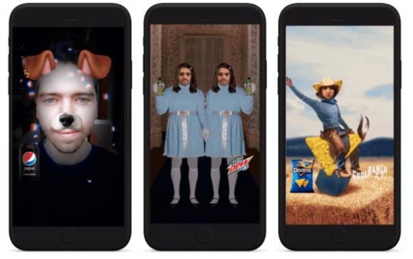 Snapchat AR filters