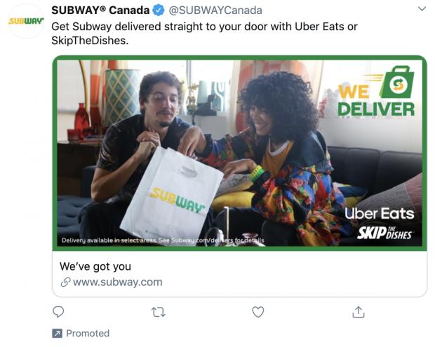 promoted tweet example