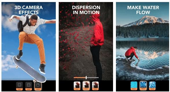 Instagram stories app enlight pixaloop