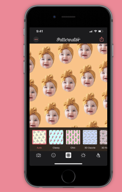 Instagram stories app Patternator