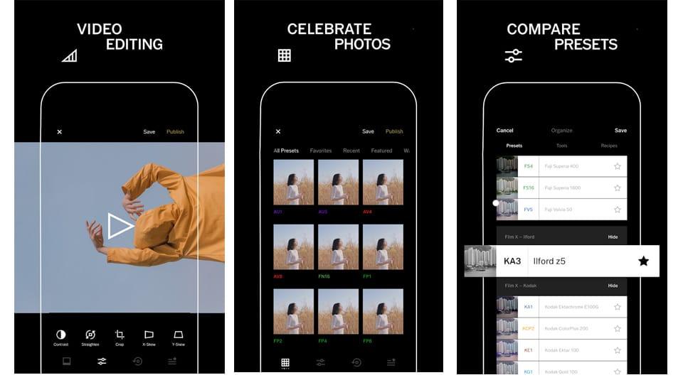 Instagram stories apps vsco