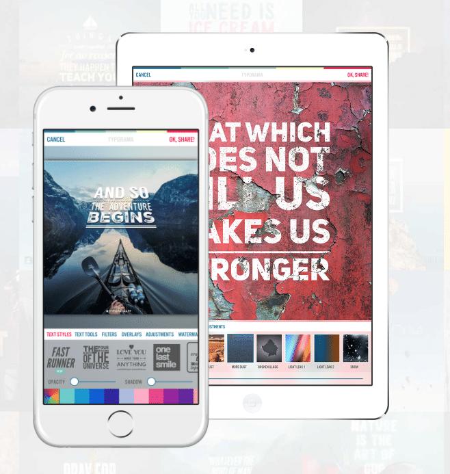 Instagram stories app typorama