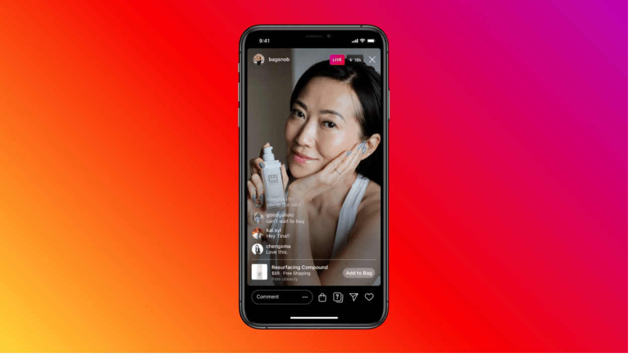 Instagram Live shopping and product display update