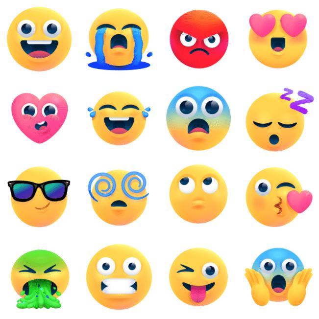 New emoji upgrades in Facebook Messenger