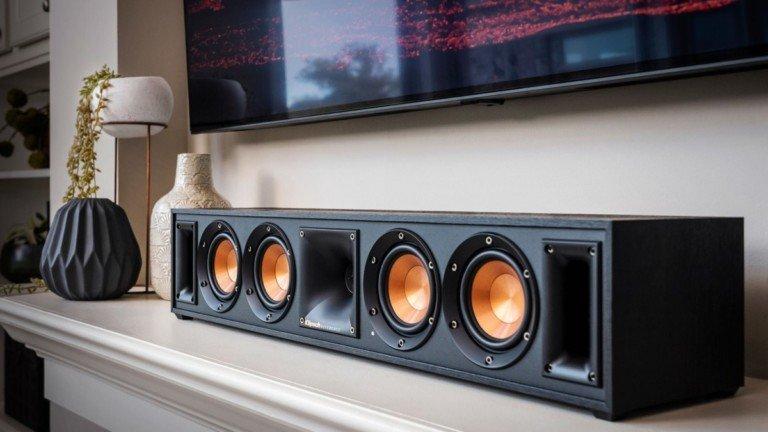 Klipsch RW-34C Wireless Center Channel Entertainment Speaker