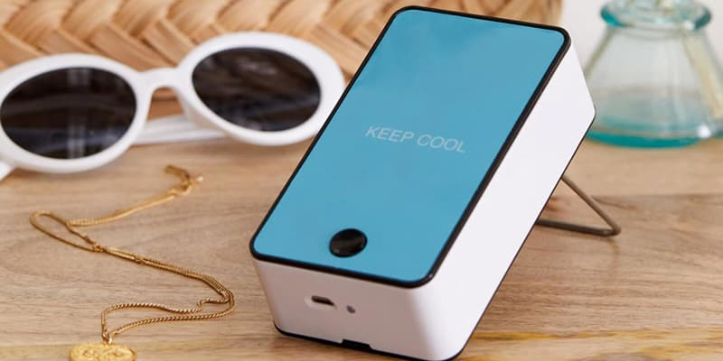 Urban Outfitters Portable Air Cooler Mini Fan