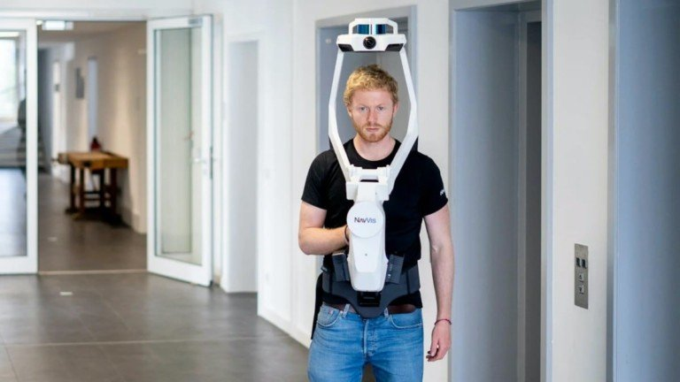 NavVis VLX Wearable Reality Capture Device