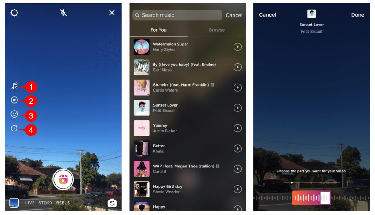 Instagram Reels Audio
