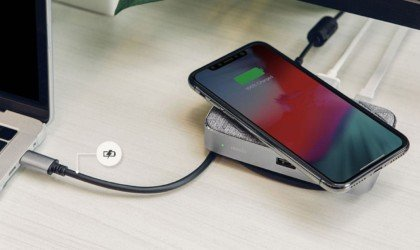 Moshi Symbus Q Wireless Charging USB-C Dock
