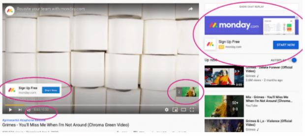 Unskippable video ads