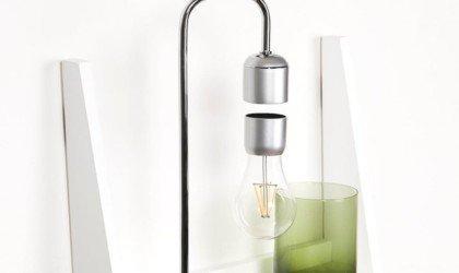 Paer Design Floating Light Bulb Suspended Desk Lamp