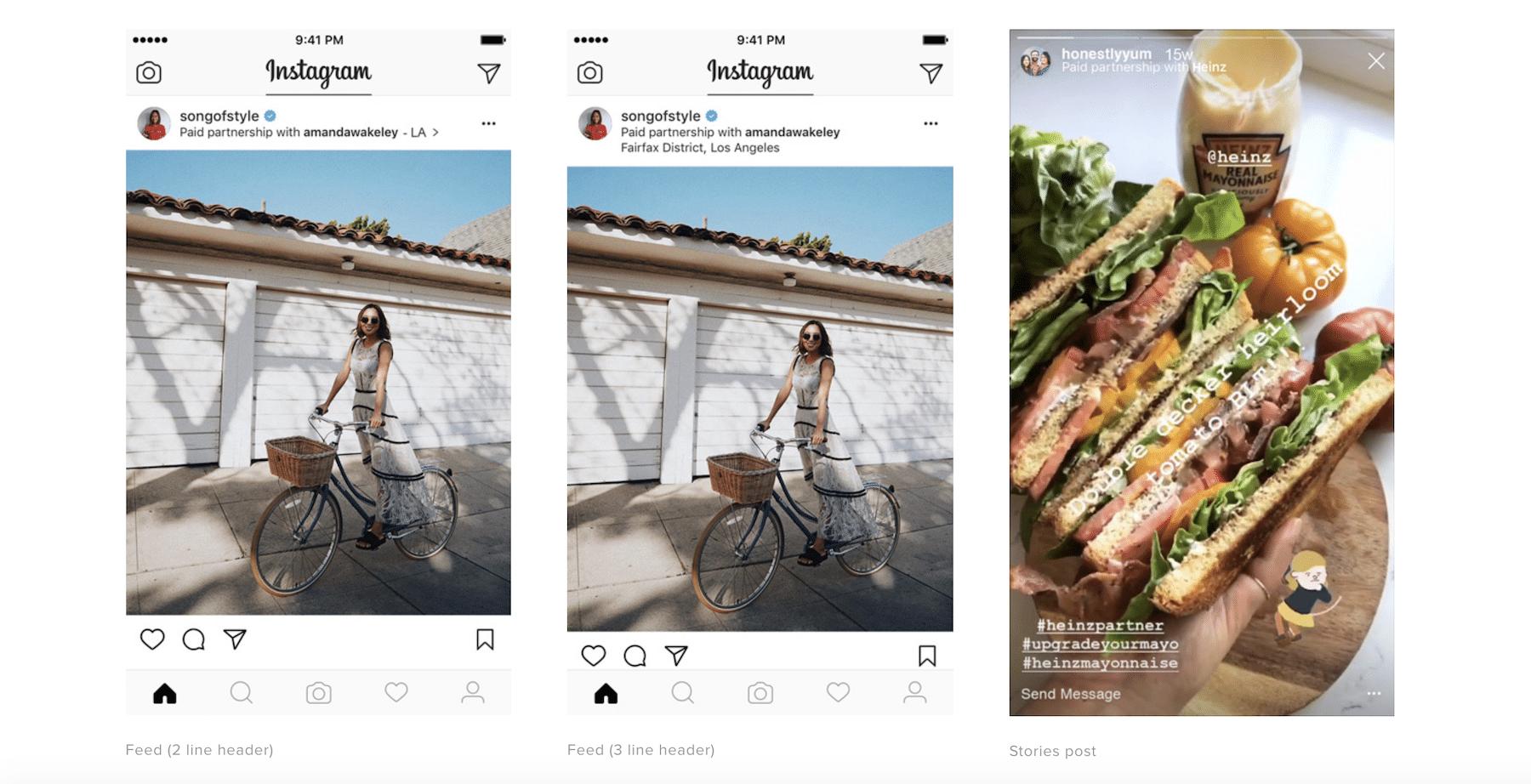 Instagram Branded Content Tools