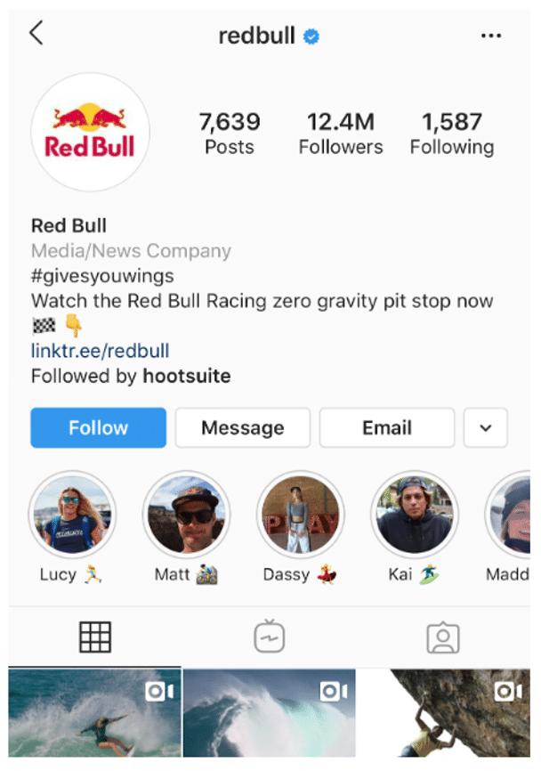 Red Bull athletes Instagram highlights