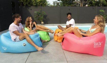 SEATZAC Incredible Self-Inflating Chair