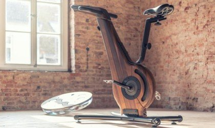 NOHrD Bike Wooden Indoor Bicycle