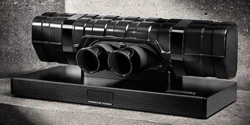 Porsche Design 911 Soundbar Black Edition Breathtaking Speaker
