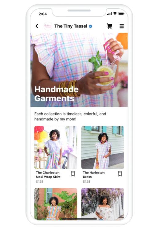 The Tiny Tassel Facebook shop
