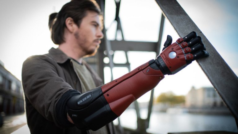 Open Bionics x Konami Venom Bionic Arm