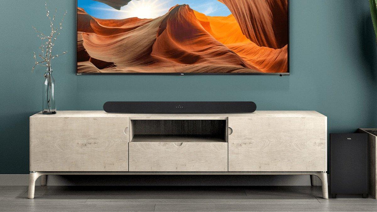 TCL Alto 6+ Roku TV Soundbar