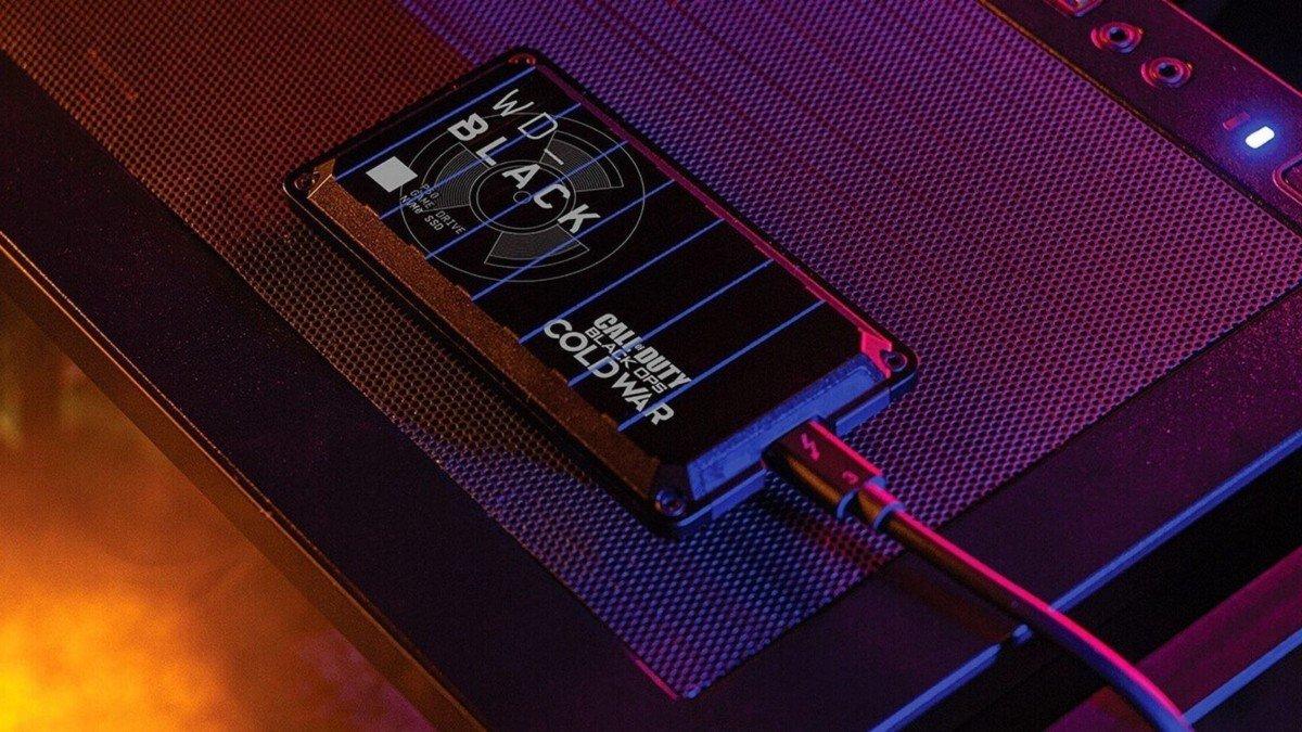 Western Digital Call of Duty: Black Ops SSD