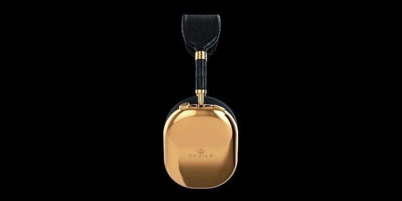 Caviar AirPods Max Golden Black