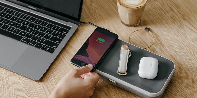Orbitkey Nest portable desk organizer