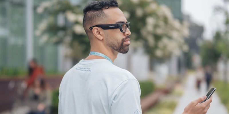 The Facebook Reality Labs Project Aria smart glasses