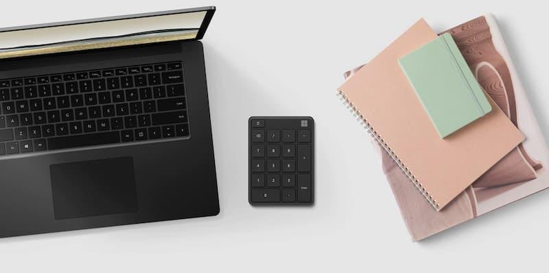 Microsoft Number Pad keyboard accessory