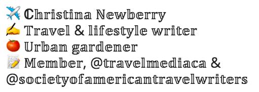 Instagram bio fonts