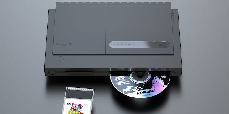 Analogue Duo All in One Video Game System