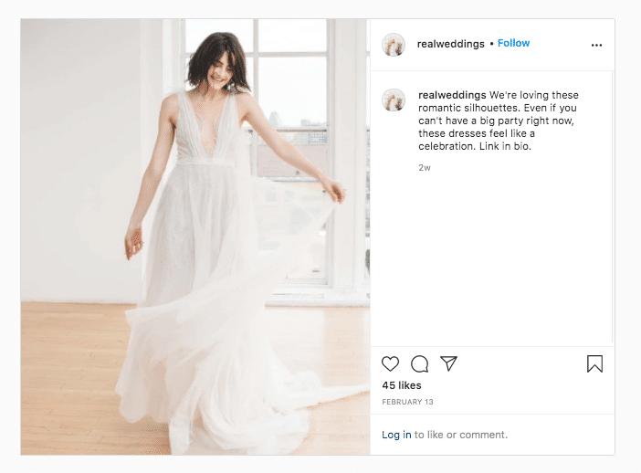Real Weddings on trend wedding dress link in bio