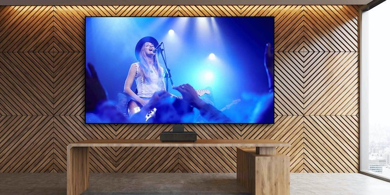 Epson LS500 Laser Projection TV 4K HDR digital projector