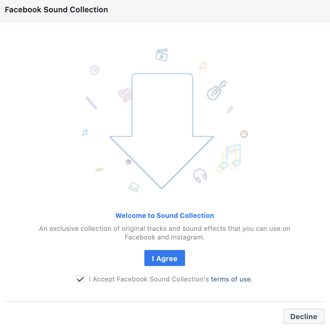 Facebook Sound Collection
