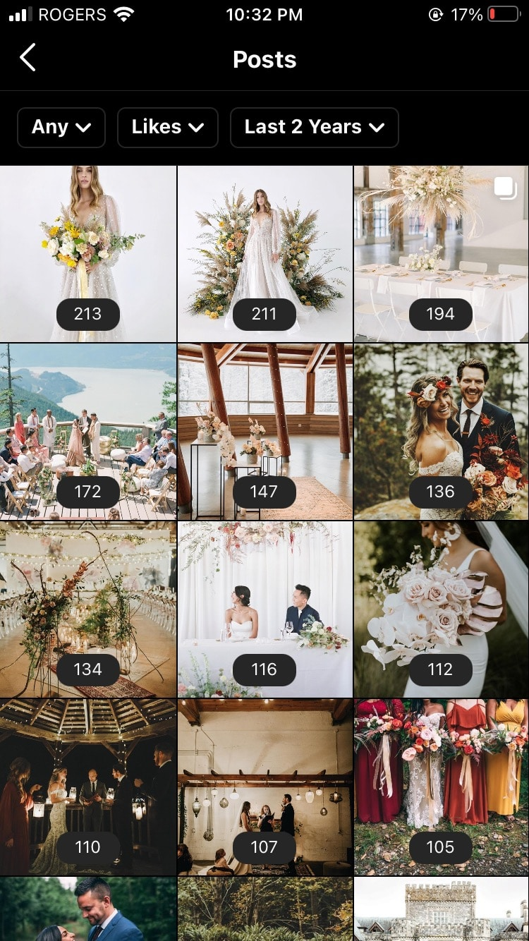 wedding magazine most commented photos