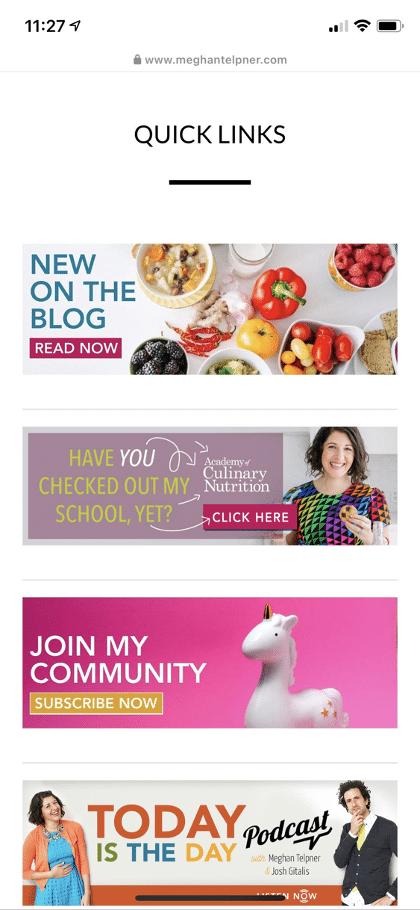 Meghan Telpner website