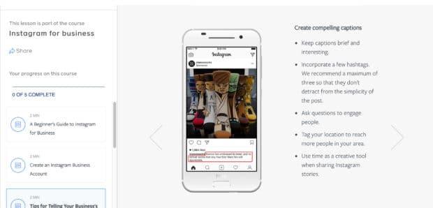 Instagram for Business by Facebook Blueprint