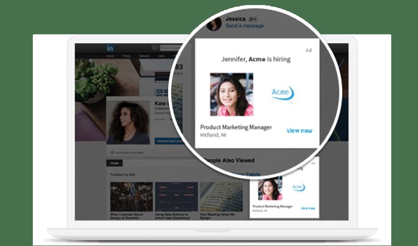 LinkedIn job ads Acme hiring