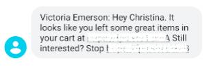 Victoria Emerson SMS