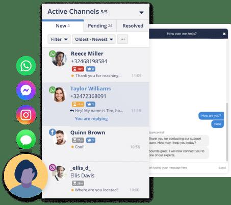 Spark Central customer service tool active platforms